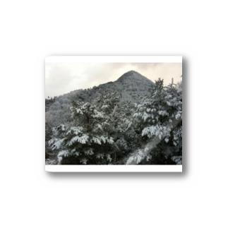 雪山 Stickers