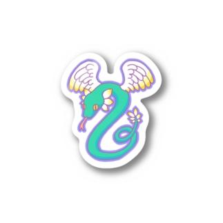 ケツァルコアトル Stickers