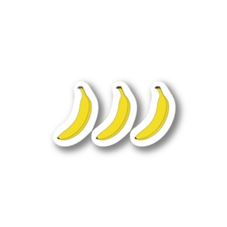 一手間banana Stickers