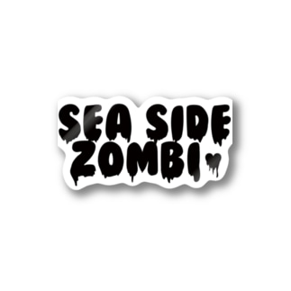 SEA SIDE ZOMBIE(ステッカー) Stickers