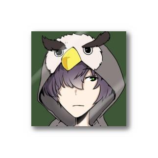 owl君ステッカー Sticker