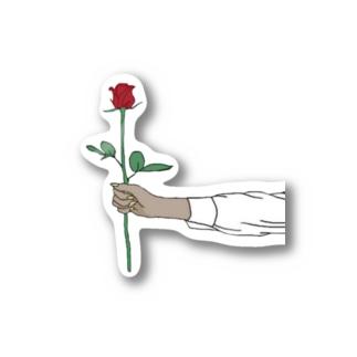 rose sticker Stickers