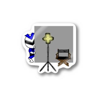 ビバムビマンブルー-こっそり撮影現場へ潜入- Stickers