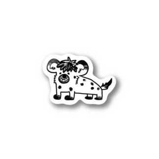 イタズラっこなブチハイエナ Stickers