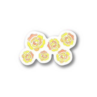 バラ #2 Stickers