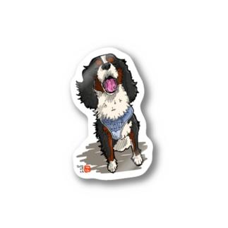 キャバリア イラストグッズ Stickers