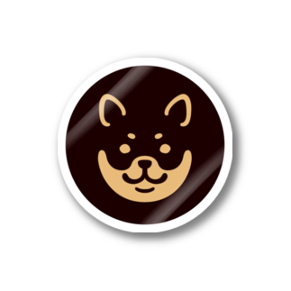 chi-bitのSHIBAT - クロシバ Stickers
