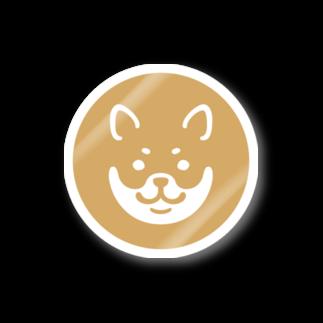 chi-bitのSHIBAT - アカシバ ステッカー