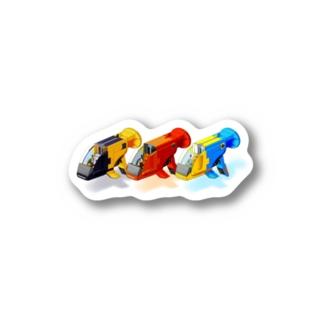 GUPPY(3色) Stickers