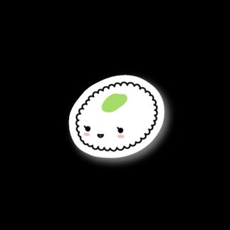 あわゆきの寿テッカー(シャリ) Stickers