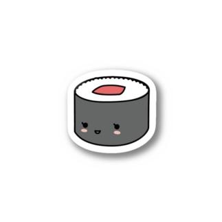 寿テッカー(てっかまき) Stickers