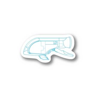 GUPPY(青) Stickers