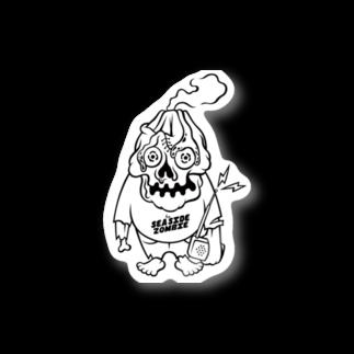 sszの桜島ゾンビくん(ステッカー) Stickers