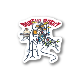 BUNCHO ROCK! Stickers