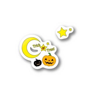 Halloween Nights Jack Stickers