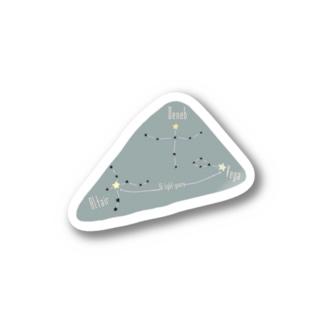 星座・夏の大三角形 Stickers