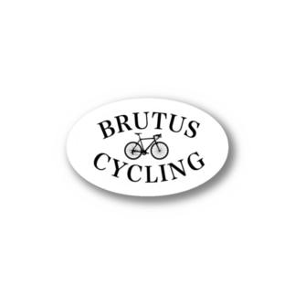 サイクリングステッカーだよ Stickers