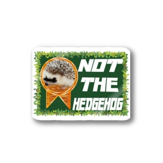 10月NEW「NOTTHEHEDGHOG」 Stickers