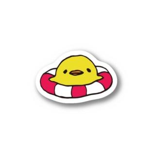 浮き輪ぷかぷか こっこちゃん Stickers