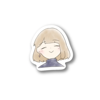 ゆるふわ女の子ステッカー Stickers