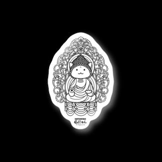 PygmyCat suzuri店の仏にゃん Stickers