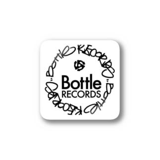 BOTTLE ロゴ Stickers