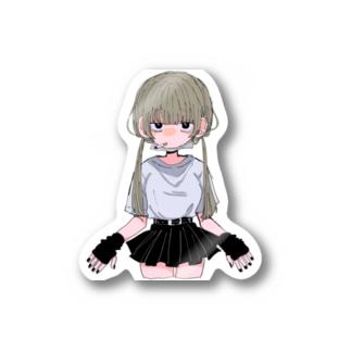 ヤニカス少女 Stickers
