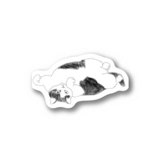 ちなこ☆動物にも愛をの誘惑する猫 Stickers