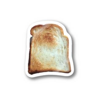 トースト Stickers