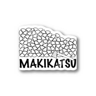 薪活シール Stickers