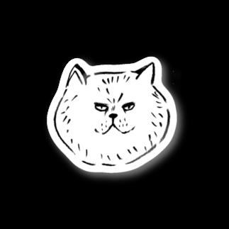 matsuorrrのふてぶて猫 Stickers