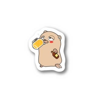 Drunken Gopher Stickers