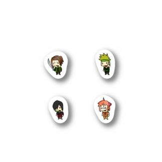 忍者05 Stickers