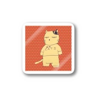 ニャッツ・ステッカー Stickers