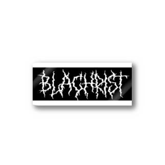 Blachrist logo ステッカー Stickers