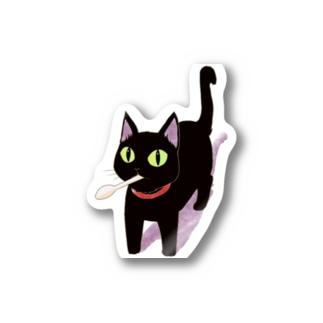 おわ~んくろねこ Stickers