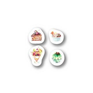 カコのデザート Stickers