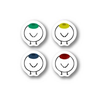 目ん玉 Stickers
