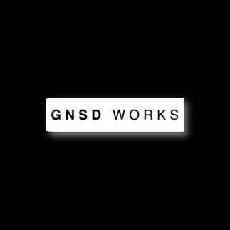 GNSD WORKS ロゴ ステッカー