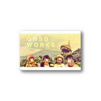 GNSD WORKS メンバーズ Stickers