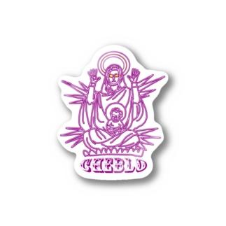CHEBGOD  Sticker
