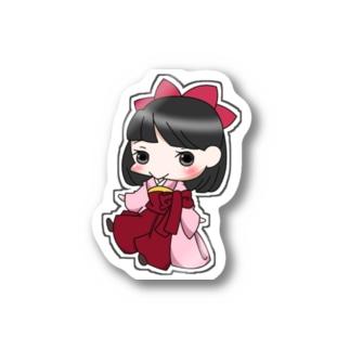 桃 Stickers