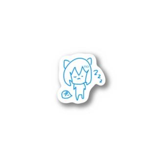 寝っ屁110 Stickers