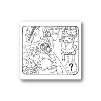 面接中 Stickers