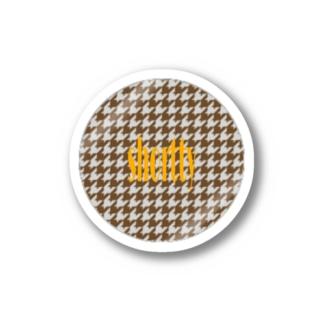千鳥ロゴステッカー Stickers