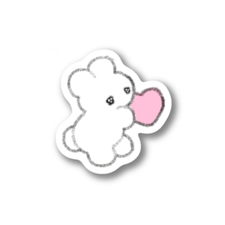 イマドキ悟りシール(ハート) Stickers