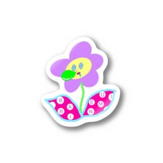 バリ眠ハナちゃん Stickers