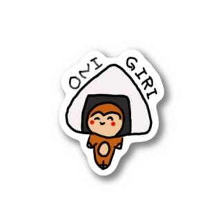 もゆちゃん〜ONIGIRI〜 Stickers