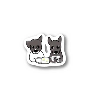 あずき&らぴ Stickers