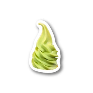ソフトクリーム Stickers